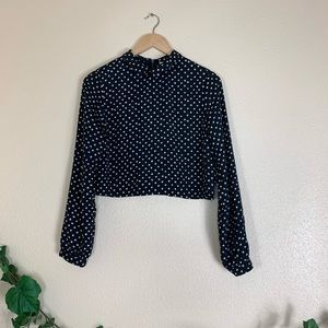 Coincidence & Chance Long Sleeve Cropped Top